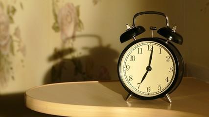 Vintage alarm clock  4k