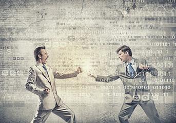 Aggressive business tactics