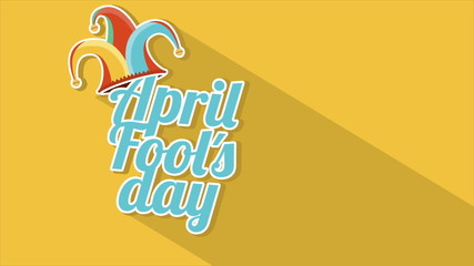 April fools day Video animation, HD 1080