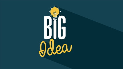 Big Idea Video animation, HD 1080