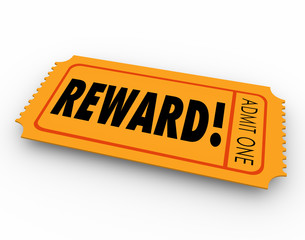 Reward Raffle Ticket Claim Prize Award Motivation Encouragement