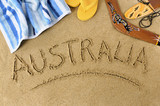Australia beach background