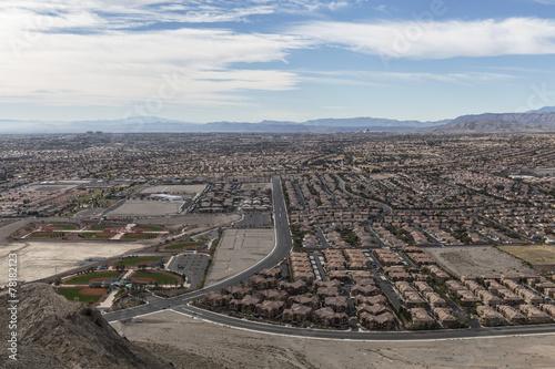 Foto op Canvas Las Vegas Las Vegas Lone Mountain View