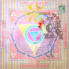 Mandala ethnic and exotic