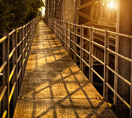 The Railroad Bridge
