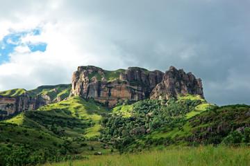 Sandstone rock, Drakensberg mountains