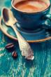 Coffee spoon, close-up
