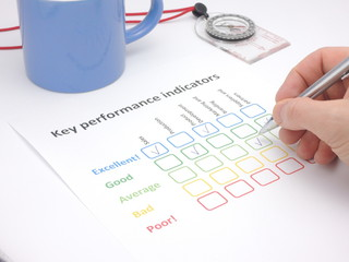 Assessment of key performance indicators