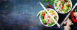 Chinese noodles with vegetables and shrimps - 78188135