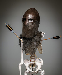 Skeleton in the armour