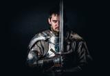 Warrior holding his great sword