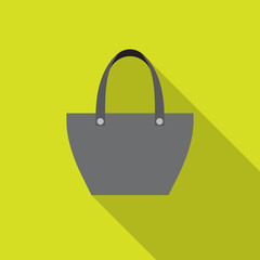 Sopping bag - vector icon