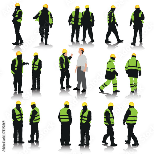 Construction workers - 78190569
