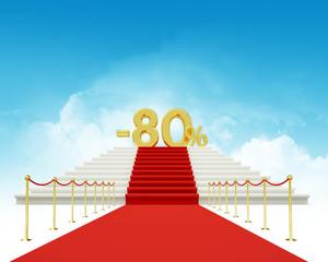 eighty percent discount