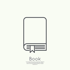Icon of an  book.