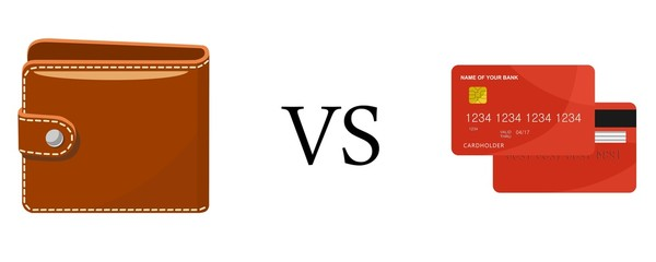 purse vs card
