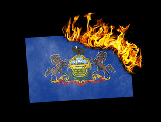 Flag burning - Pennsylvania