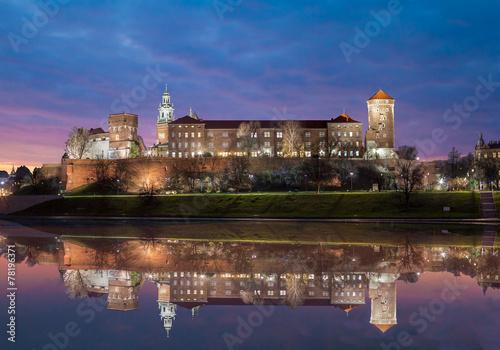 Wawel Royal Castle, Krakow - 78196371