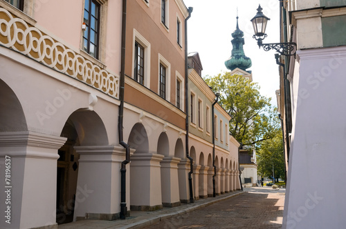 Zamosc city center, Poland © Vitaliy Hrabar