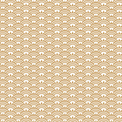 Golden fish scale background.