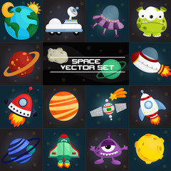 space square vector