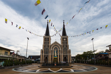 Cathedral of the Immaculate Conception, Chanthaburi, Thailand.