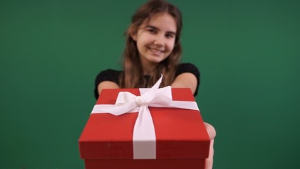 girl gift from the heart