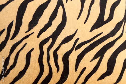 Plexiglas Panter abstract with Bengal tiger texture