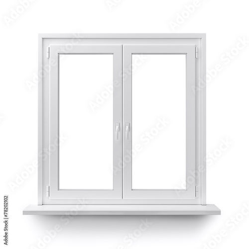 Fotobehang Wand Window
