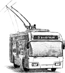 urban trolleybus
