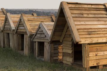 Wooden Kennels