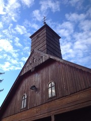 chapel in Lucelnica