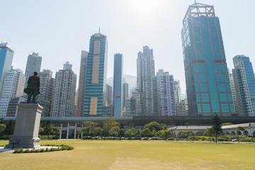 SunYatSen MemorialPark (中山記念公園) in HongKong