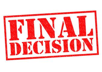 FINAL DECISION