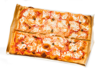 Homemade Margherita Pizza, Italian Food