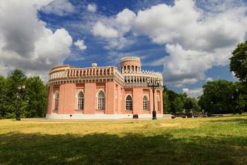 historic palace in Tsaritsino park