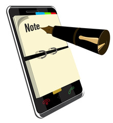 Note Programm for Smart Phone