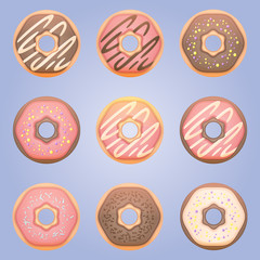 Sweet donut set