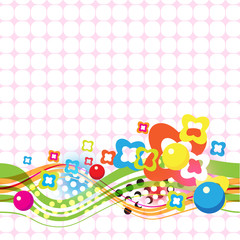 vector celebration abstract background design