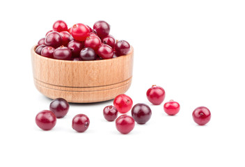 Cranberries in bowl