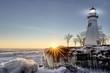 Marblehead Lighthouse Winter Sunrise - 78209988