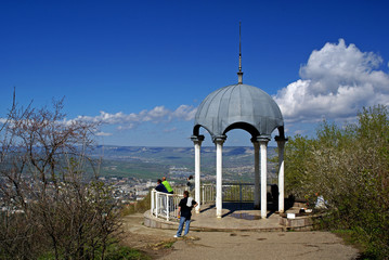 observation deck in Kislovodsk