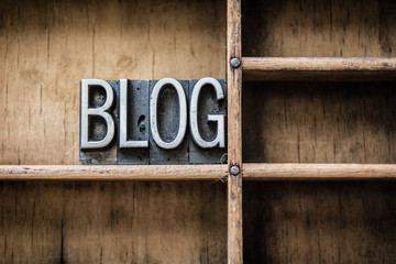 Blog Letterpress Type in Drawer