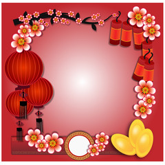 Chinese new year - Illustration