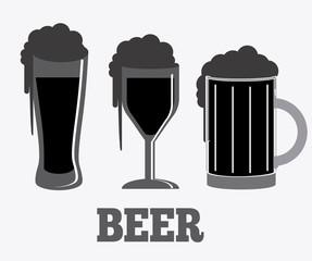 Beer design, vector illustration.