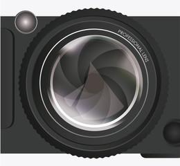 Camera design, vector illustration.