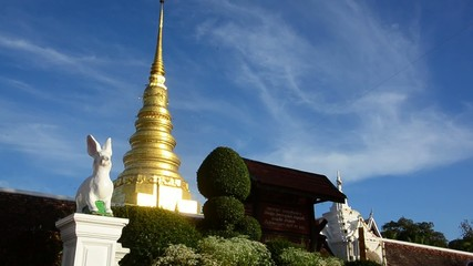 Wat temple in Northern Thailand - Buddhism
