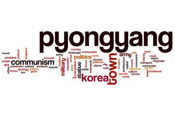 Pyongyang word cloud