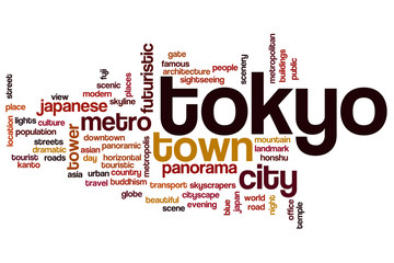 Tokyo word cloud