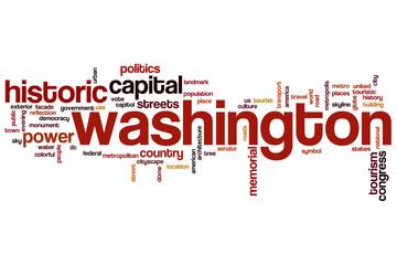 Washington word cloud